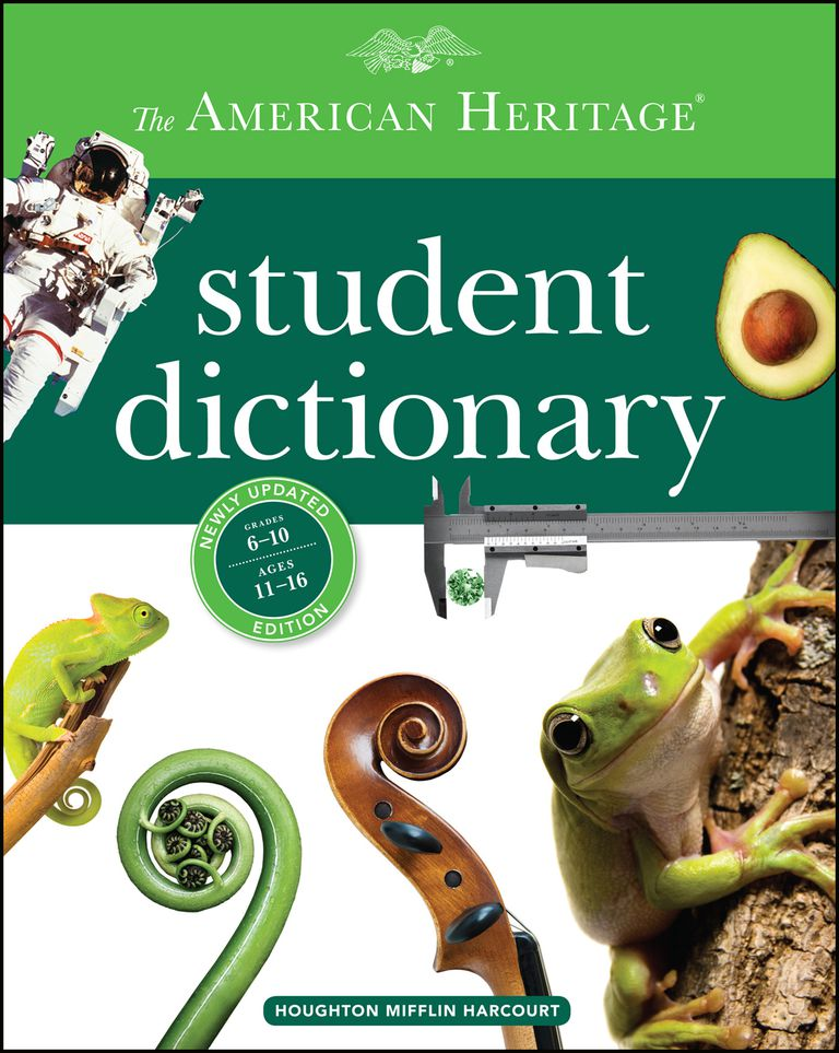 The American Heritage Student Dictionary - Book Cover