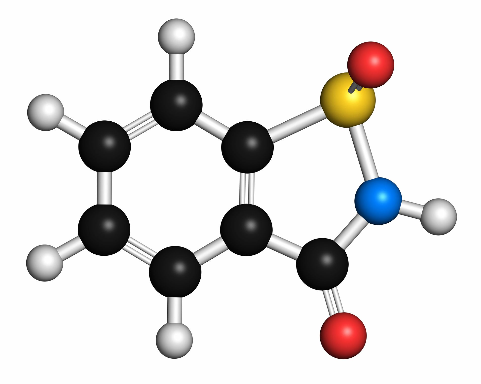 La sacarina o sulfinuro benzoico es un edulcorante artificial.