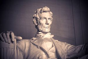 President Abraham Lincoln, Lincoln Memorial