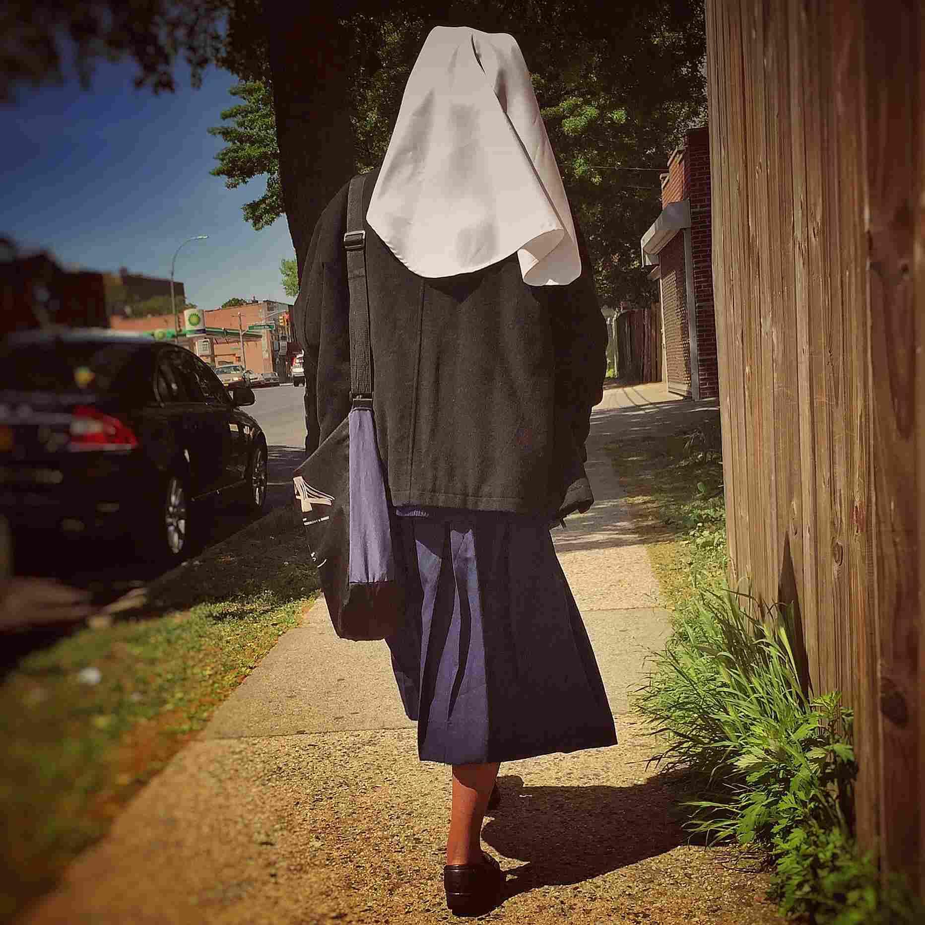 Monja católica.