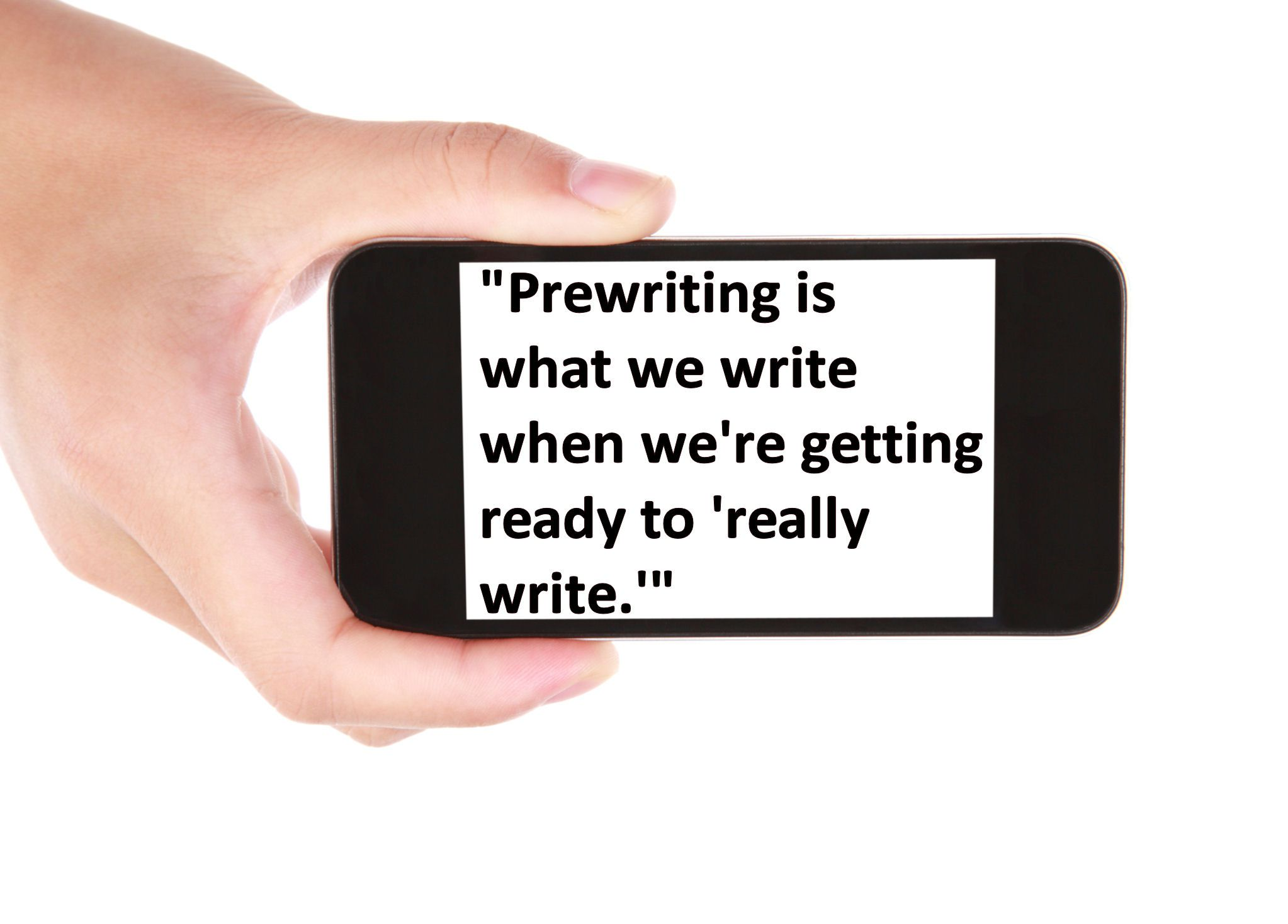 Definition and Discussion of Prewriting Strategies