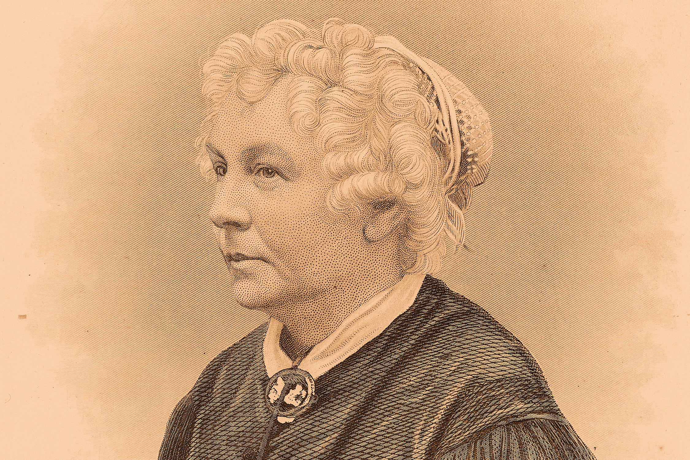 Elizabeth Cady Stanton, about 1870