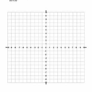 coordinate and graph paper with numbers