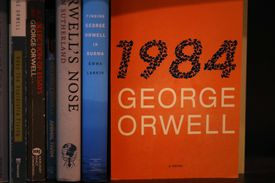 George Orwell's 1984 and a collection of other books