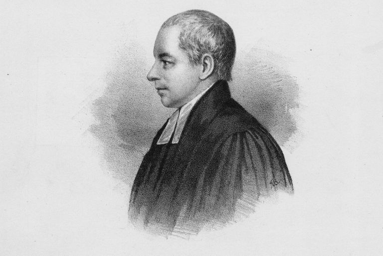 engraved illustration of William Paterson