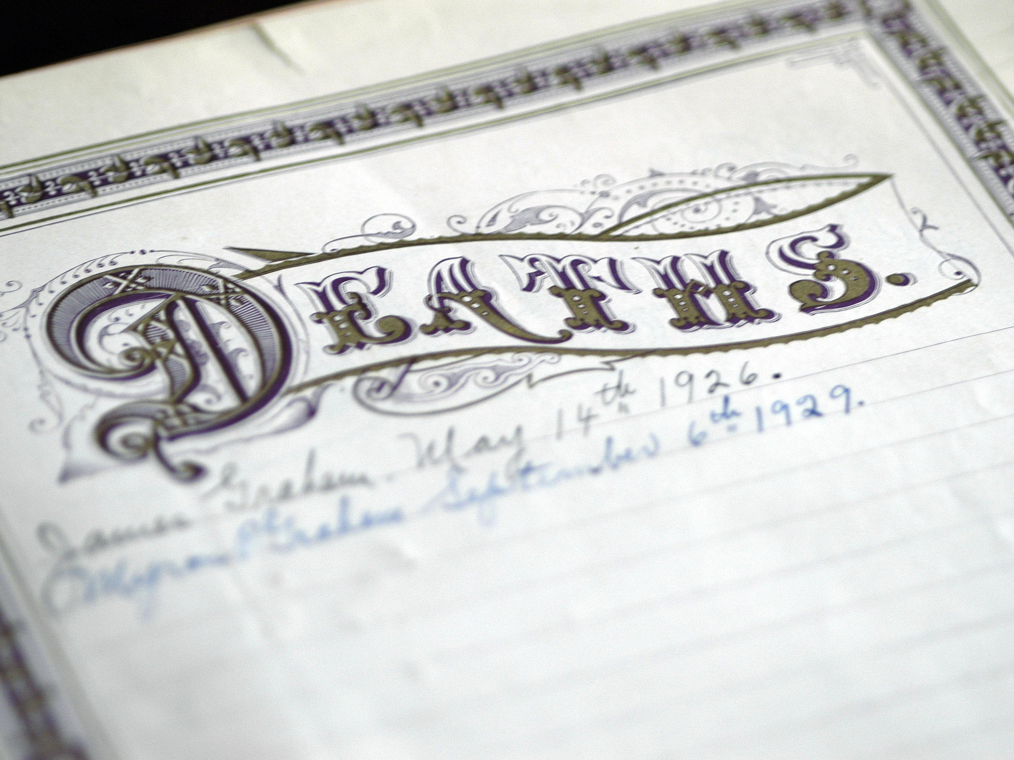 Important Things You Can Learn From Death Records