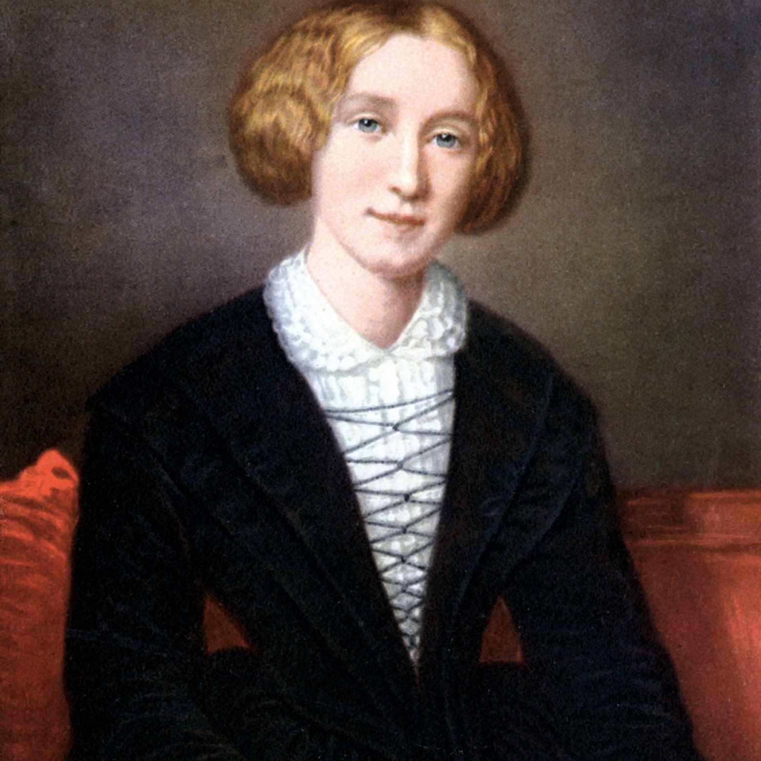 George Eliot als junge Frau, um 1840.