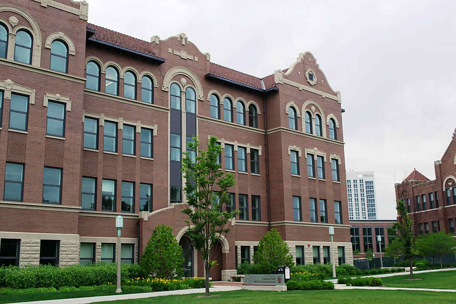 Cuneo Hall at Loyola University Chicago
