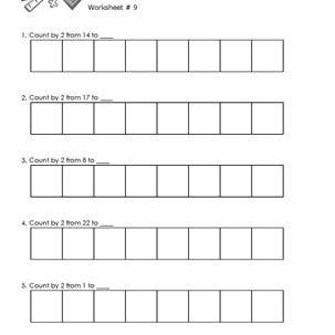 Worksheet # 9