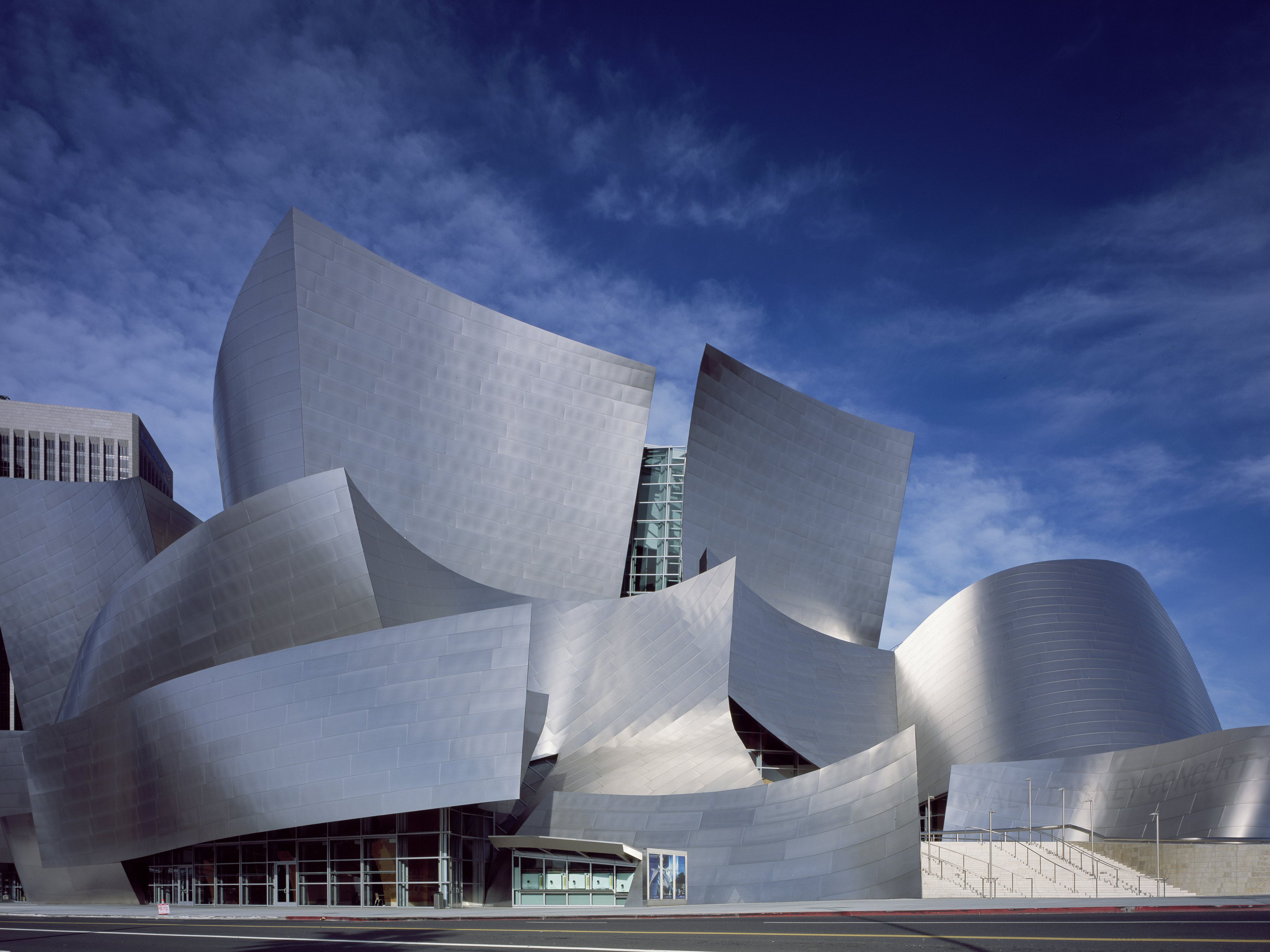 What Is The Hazard Of Metal Siding Like On Disney Hall