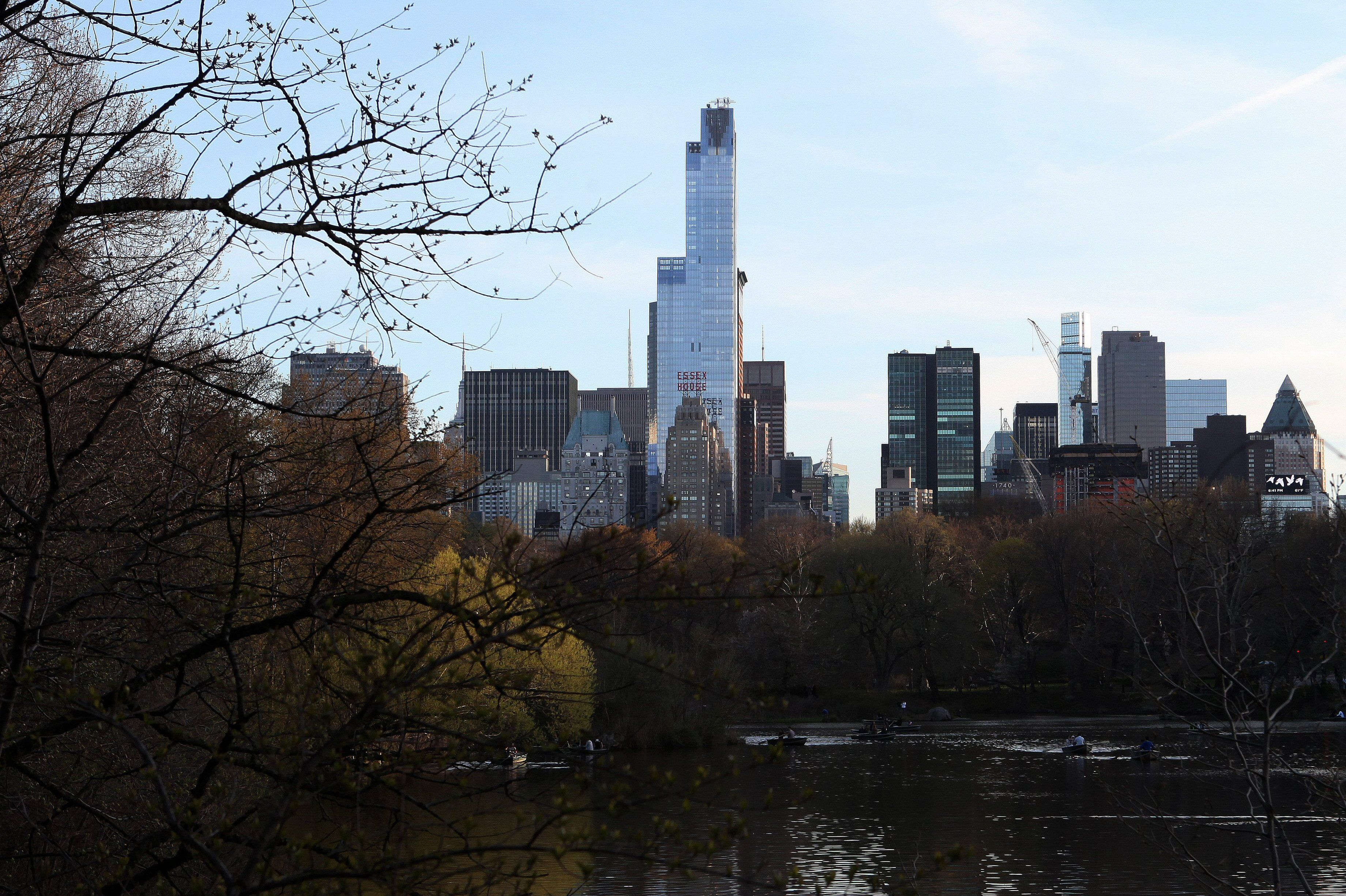 One57 Overlooking Central Park, Skyscraper Designed by Portzamparc