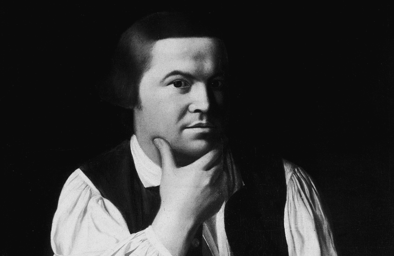 Portrait of Paul Revere by John Singleton Copley