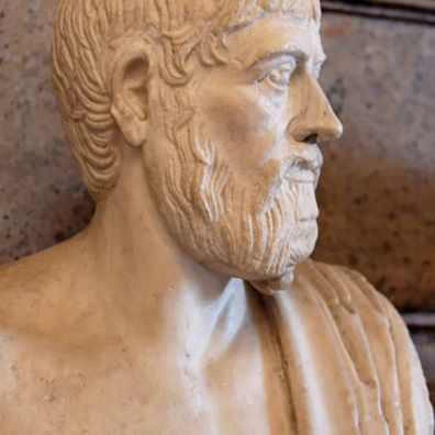 Bust of Pindar at the Capitoline Museums