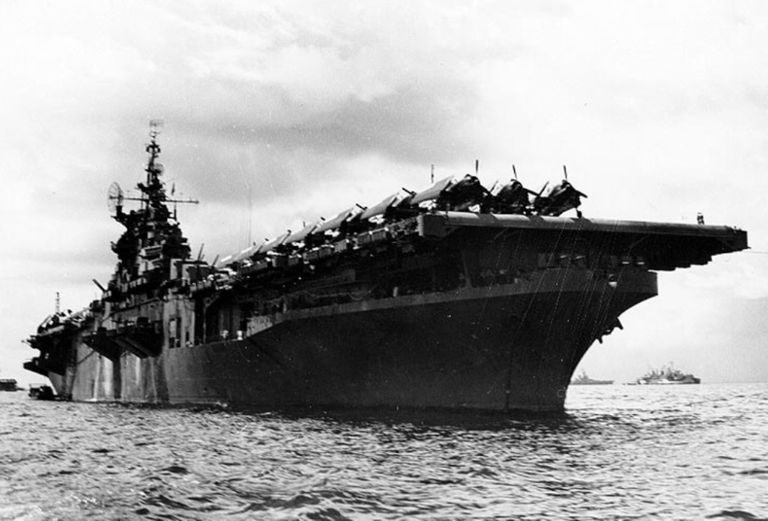 USS Randolph (CV-15) during World War II