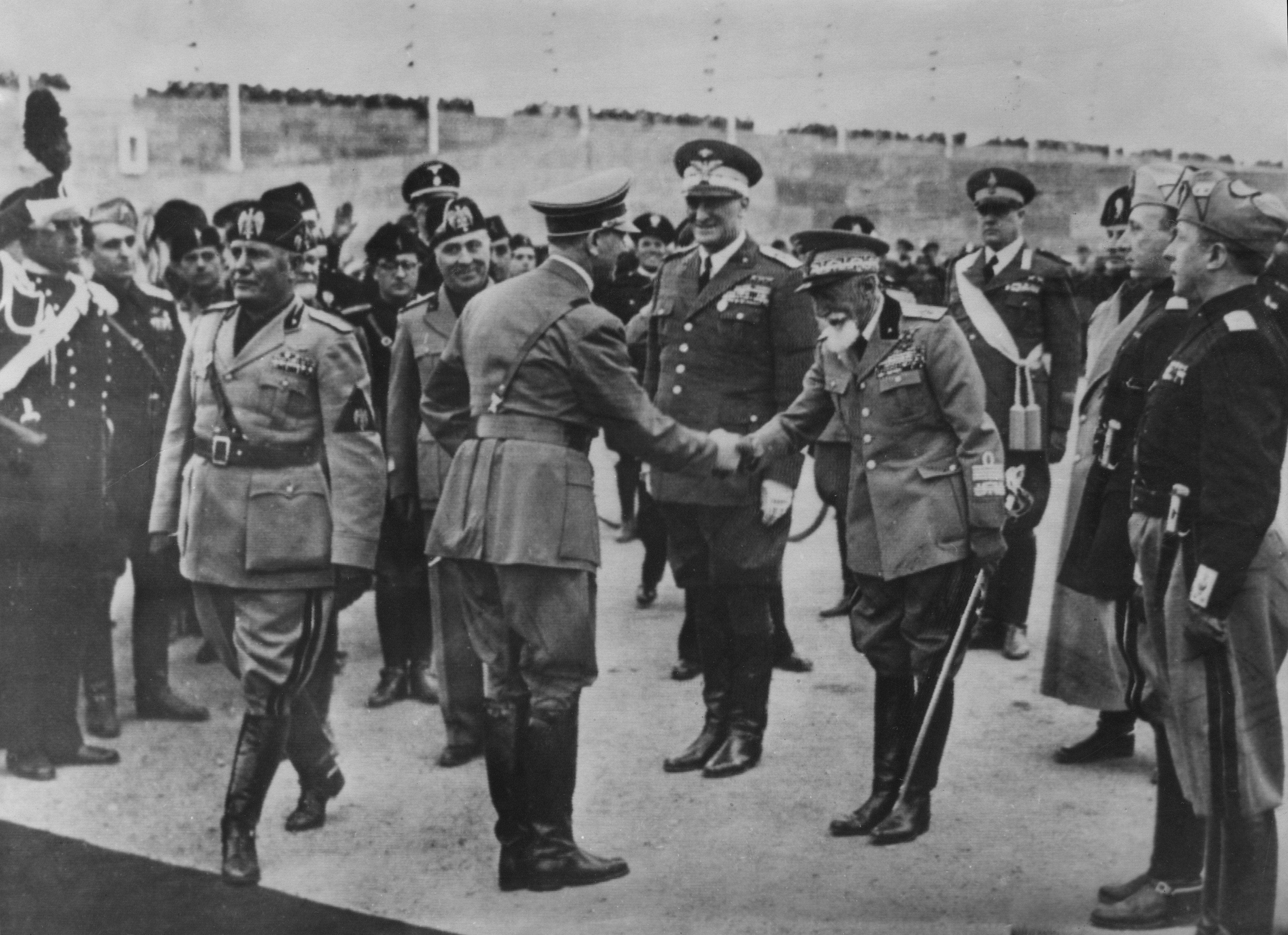 Hitler In Italy