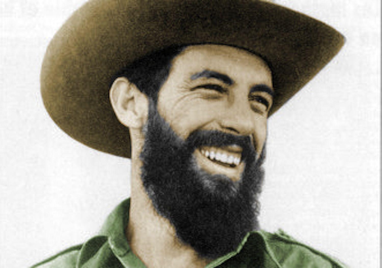 Camilo Cienfuegos colorized photo.