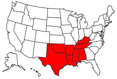 Rust Belt States Map.The Bible Belt Of The U S Explained