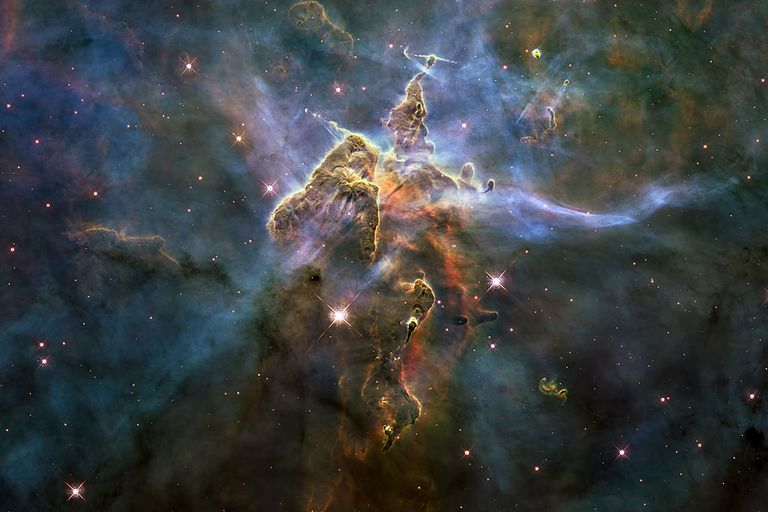 Mystic Mountain in the Carina Nebula