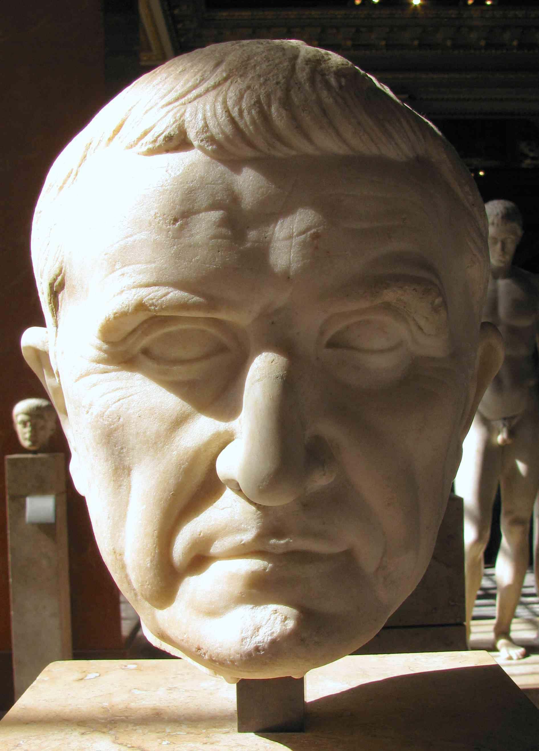 bust of marcus crassus