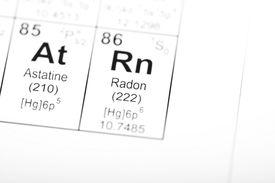 Periodic Table Element Radon