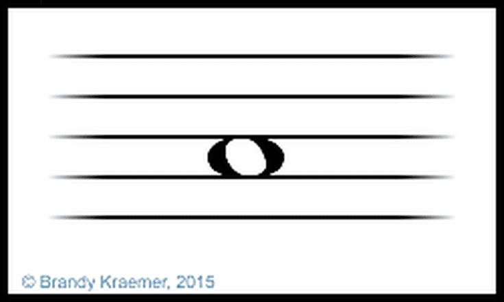 Semibreve Musical Symbols
