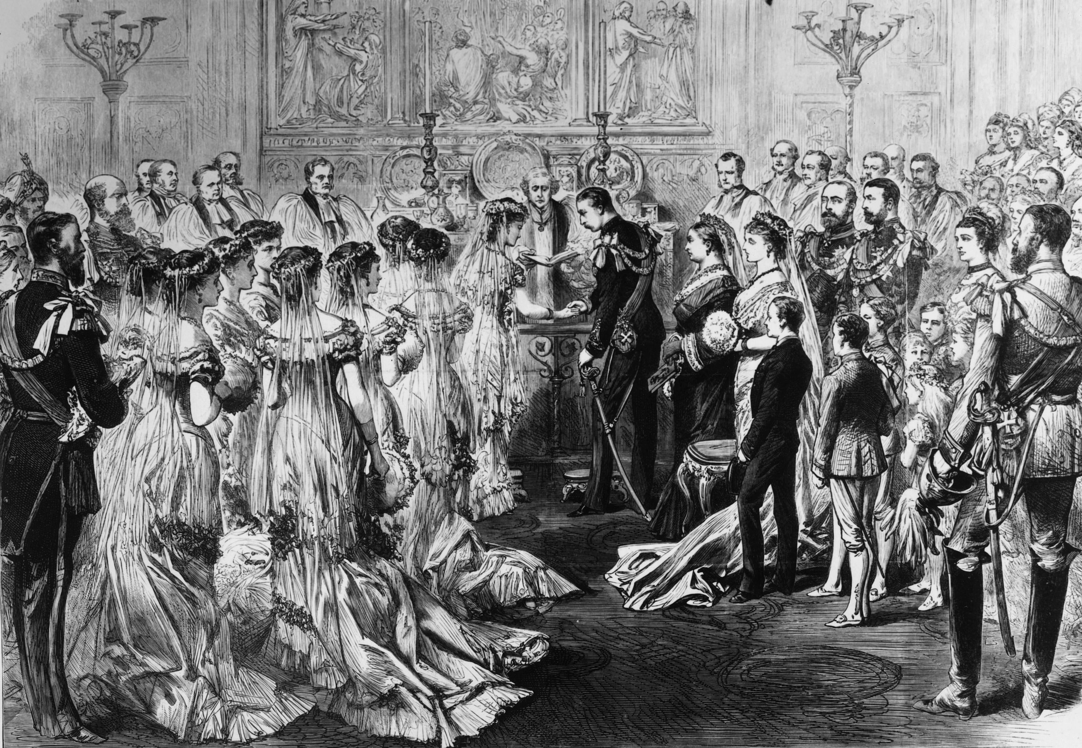 ビクトリア女王の次男、アーサーウィリアムは、1879年にプロシアのルイーズマーガレット王女と結婚します。
