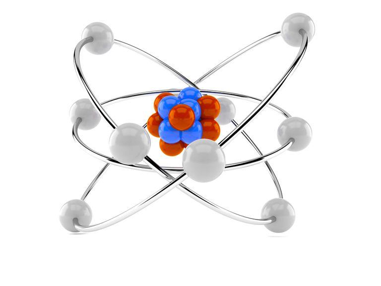 A 3D atom model