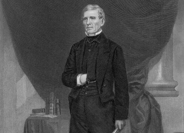 Engraved portrait of Senator John J. Crittenden