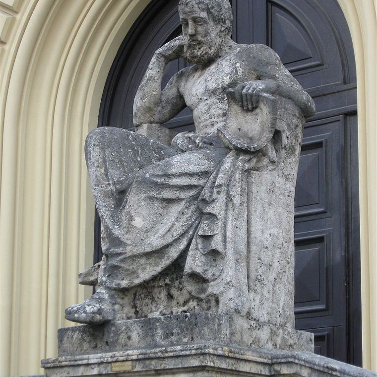 Statue of Hippocrates