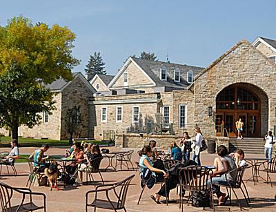 St. Lawrence University - Courtyard in Front of Dana Dining Center