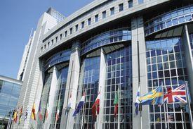European Parliament in Brussels, Belgium