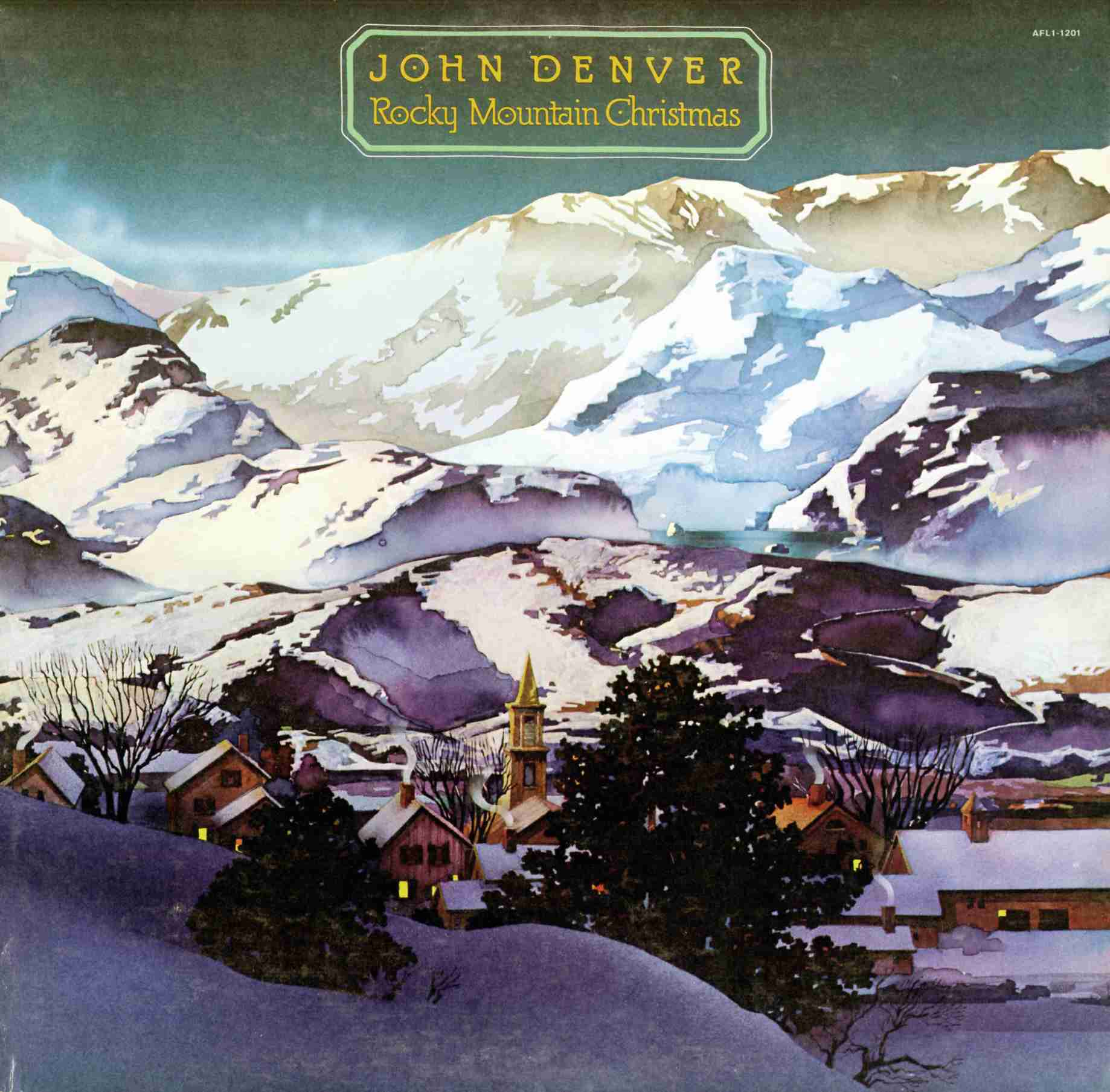 john denver a rocky mountain christmas 1975 - Best Christmas Albums Of All Time
