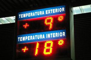 Temperatures in Spanish