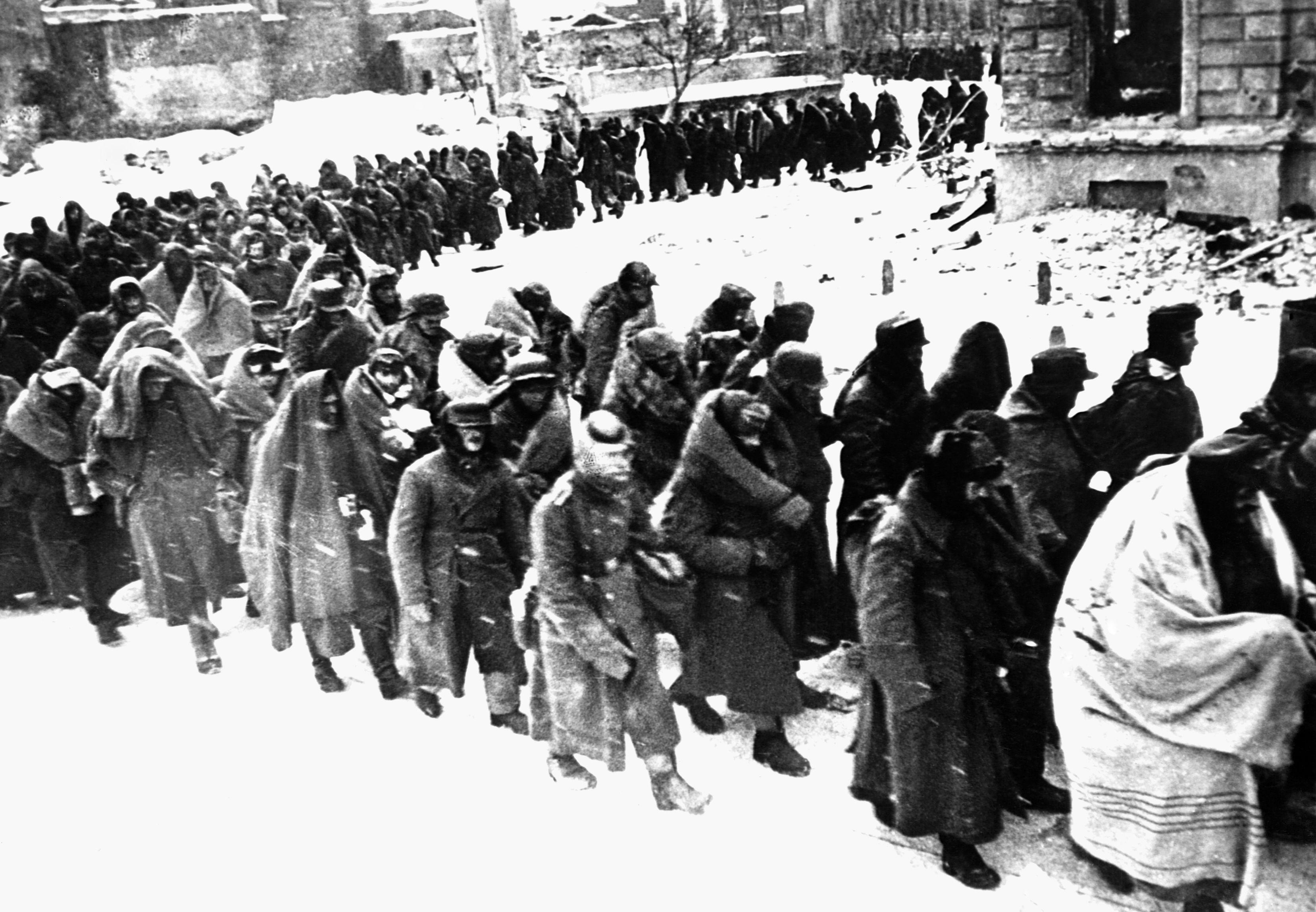 German POWs in Stalingrad