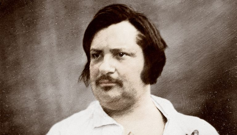 Daguerrotype of Honore de Balzac circa 1845