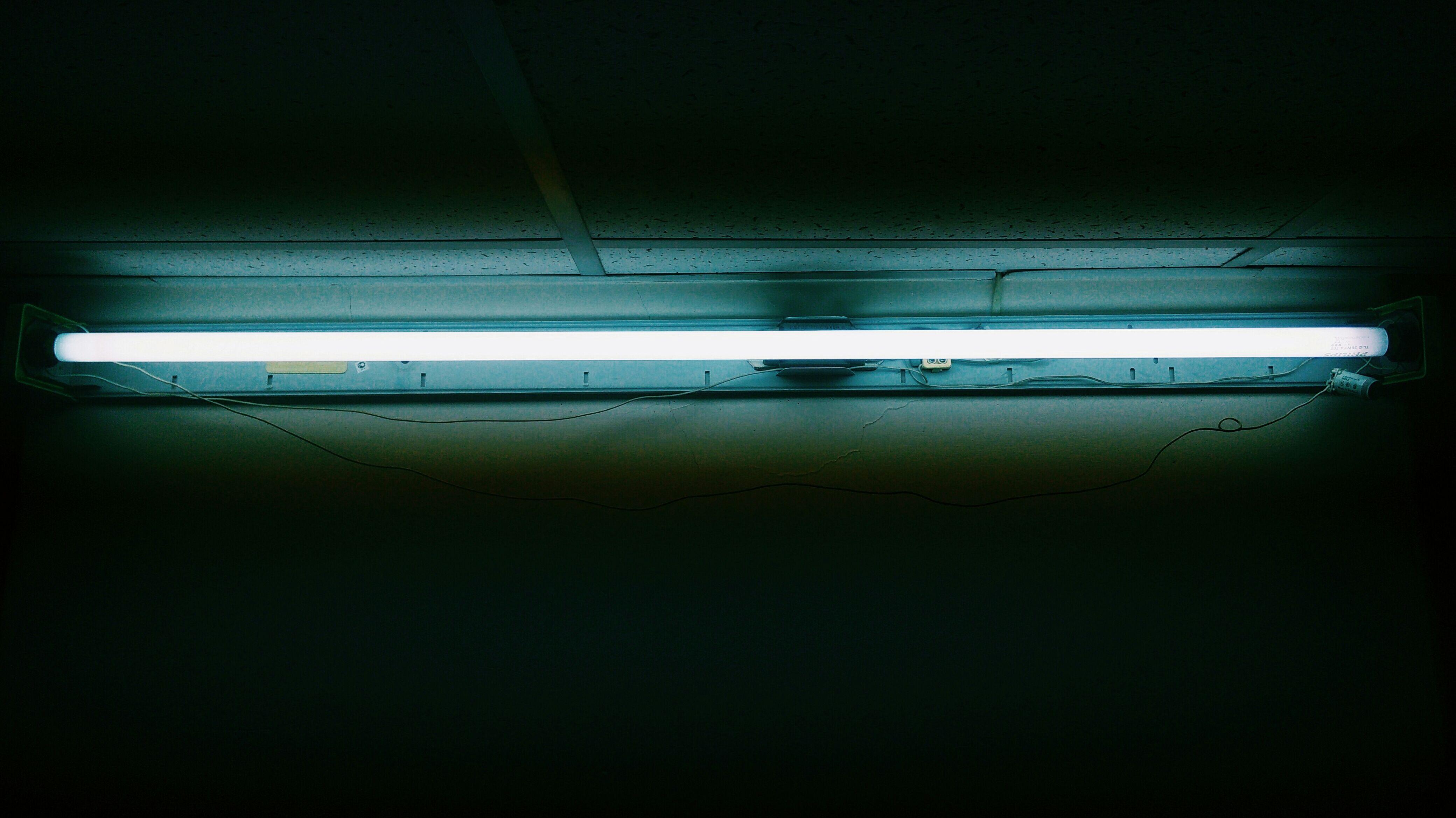 Fluorescent Light Science Experiment
