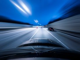 Highway hypnosis is more common at night, yet can occur during the day too.