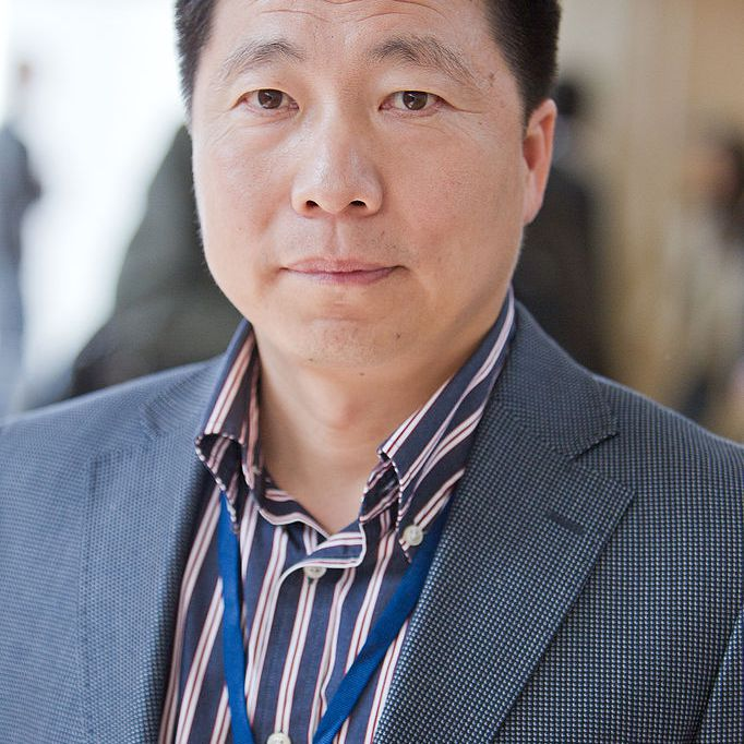 Yang Liwei, first Chinese astronaut.