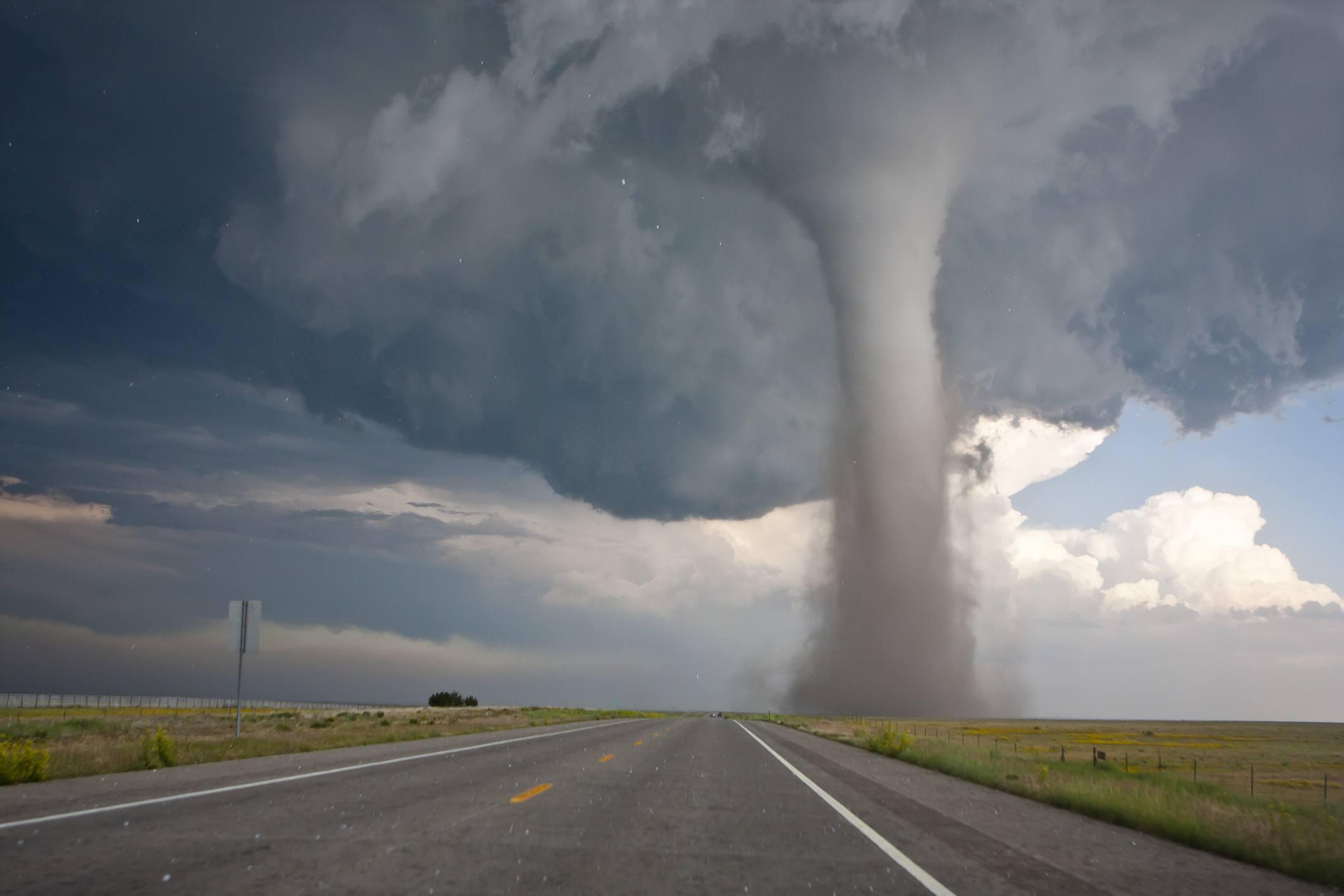 Baca / Campo tornado - stock photo