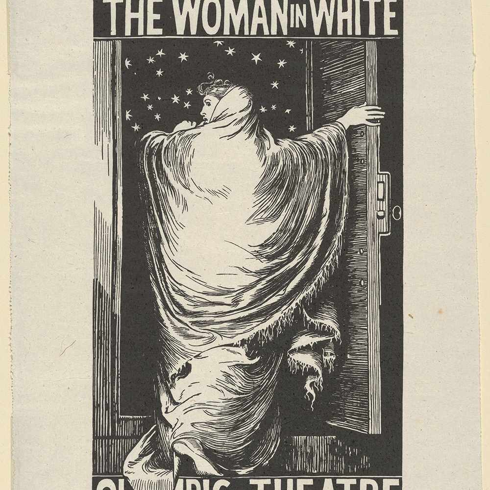 poster for Wilkie Collins's