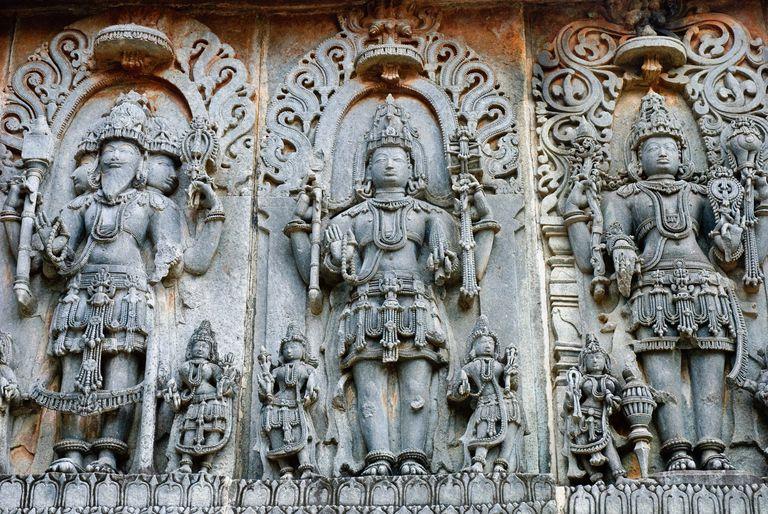 Vishnu, Shiva, Brahma