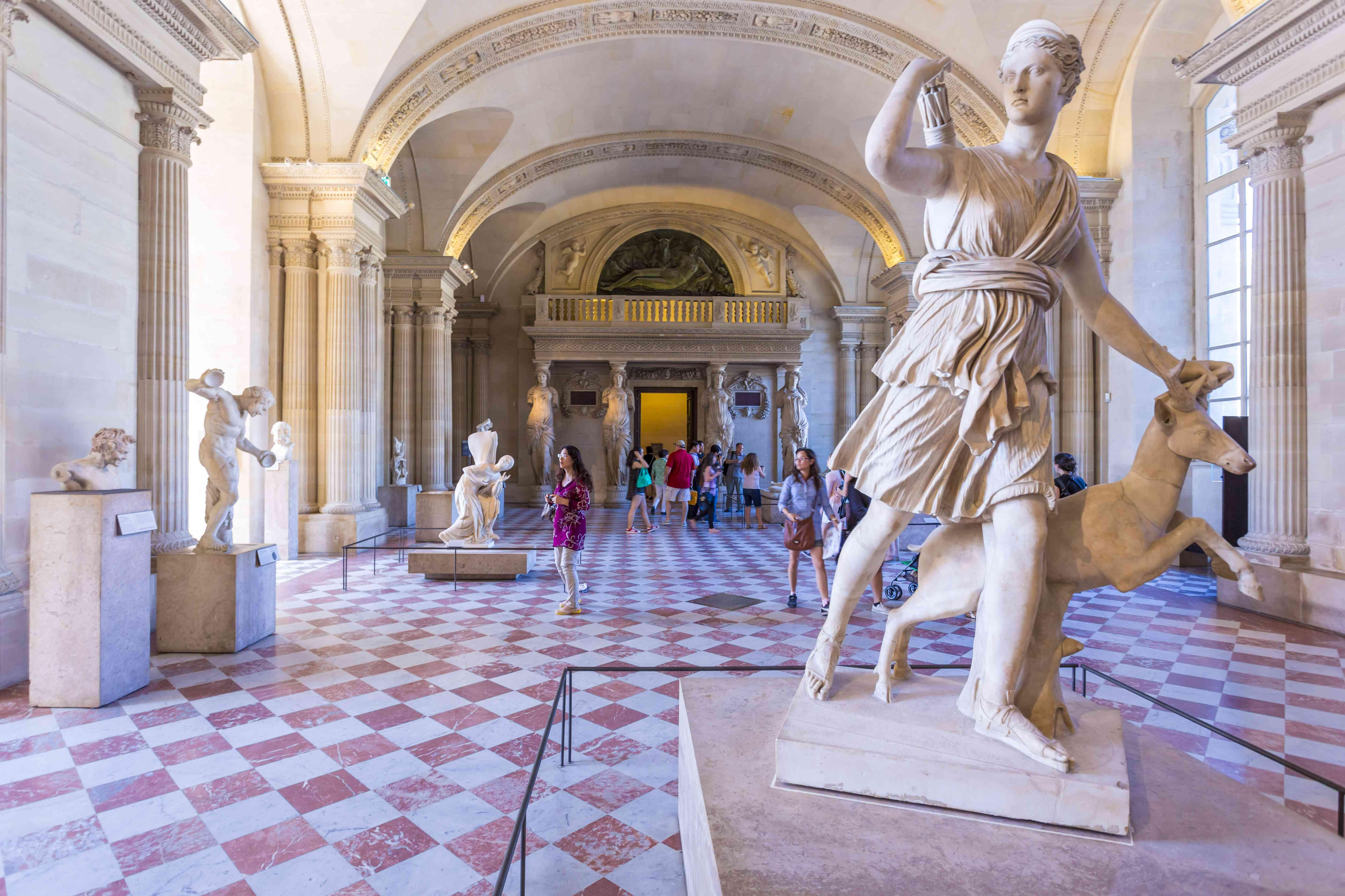 Artemis-Diana von Versailles Skulptur