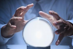 Using a crystal ball to predict the future