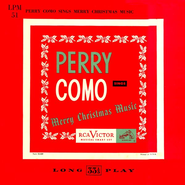 perry como perry como sings merry christmas music