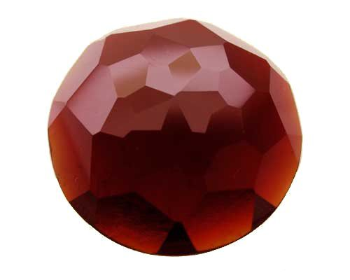 This is a faceted garnet.