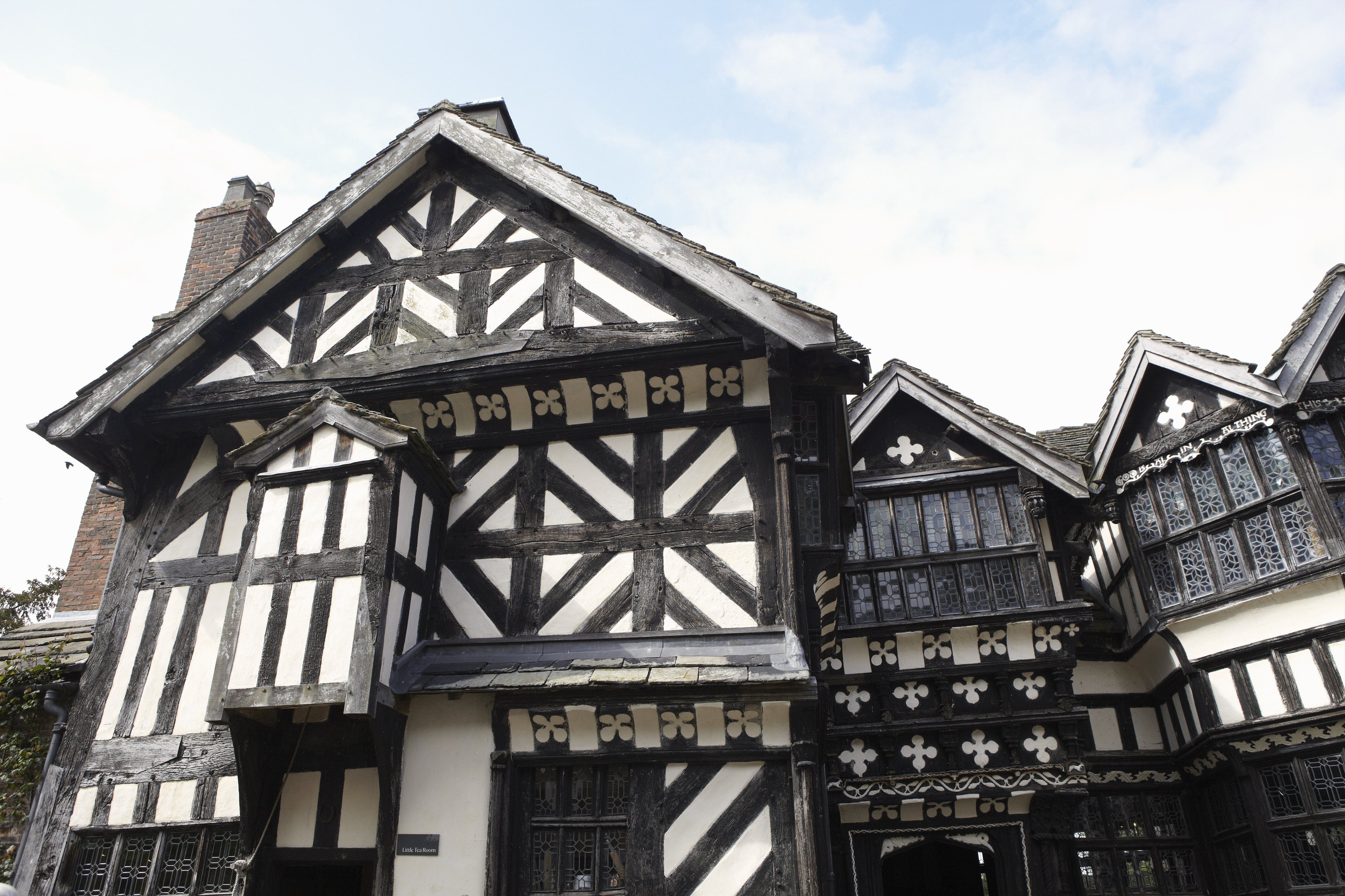 Medieval Half Timbered Construction