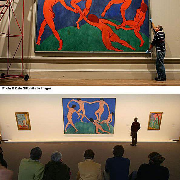 Matisse dancer paintings