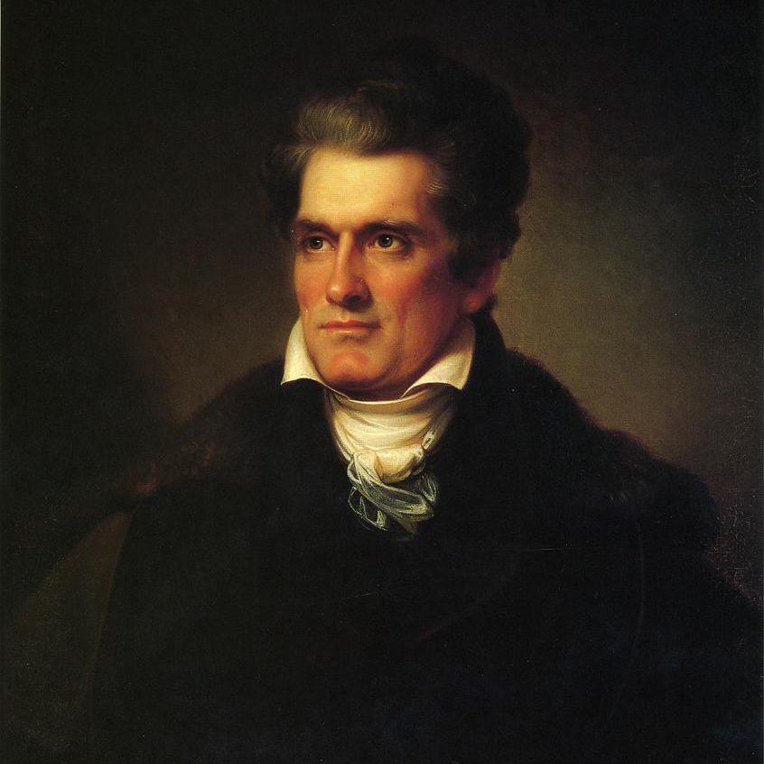 Painting of John C. Calhoun