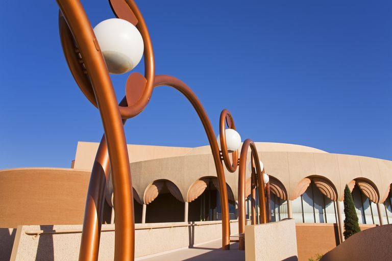 Gammage Auditorium, Arizona State University. (Architect -Frank Lloyd Wright)