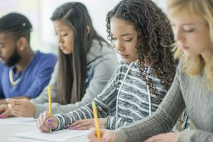 Students Write a Test